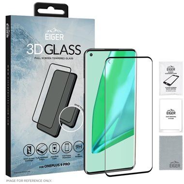 One Plus 9 Pro 3D Glas Case friendly