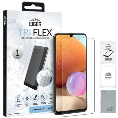 EIGER Samsung Xcover 5 Display-Glas (1er Pack) Tri Flex High-Impact clear
