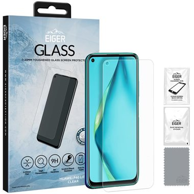 Huawei P40 lite Display-Glas 2.5D Glass, transparent