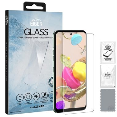 LG K42 Display-Glas 2.5D Glass, transparent