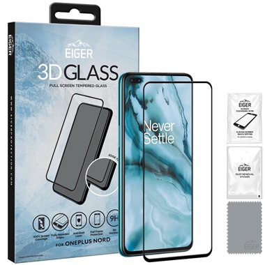 OnePlus Nord Display-Glas 3D Glass, transparent/black