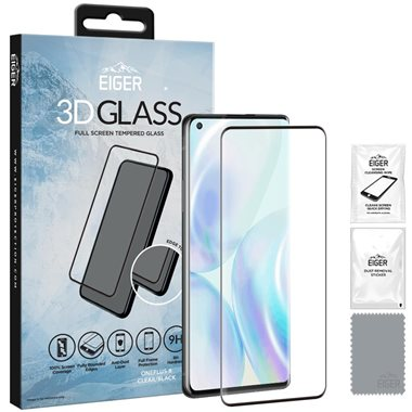 One Plus 8 Display Glas 3D Glass Case-Friendly