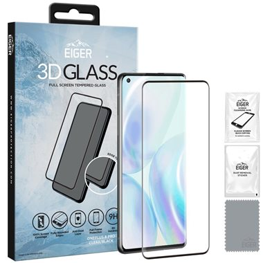 One Plus 8 Pro Display Glas 3D Glass Case-Friendly